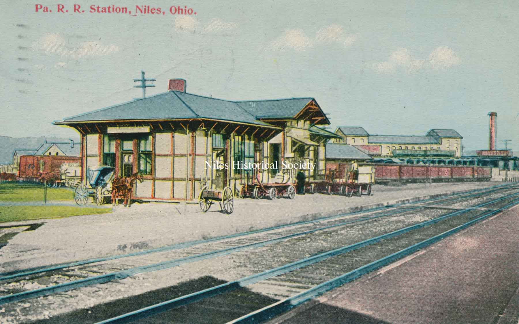Train Stations and the Railroads